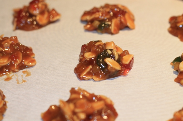 Florentines before baking