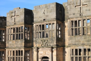 Front of Gibside Hall