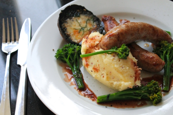 Posh Sausage and Mash