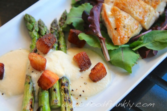 Asparagus Parmesan Custard