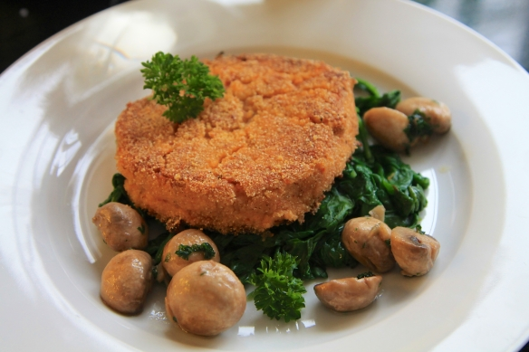 Chickpea cake