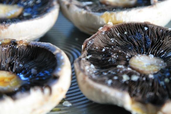 Roasted mushroom