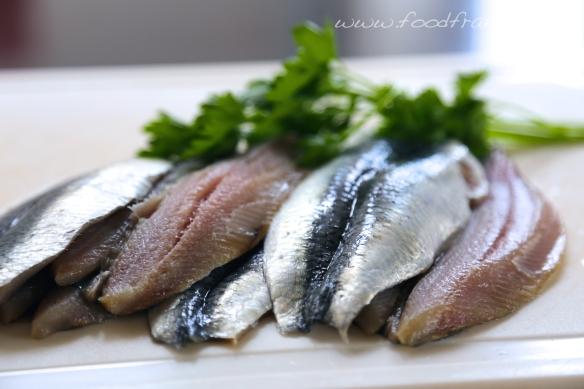 Sardine fillets